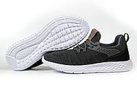 Мужские кроссовки в стиле Pacer Navigator, текстиль, черные, 41(26,5 см), в наличии:41,42,43,44,46
