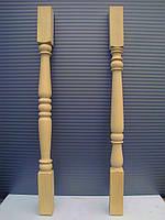 Деревянные балясины из бука точёные, фото 1