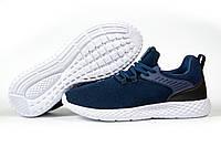 Мужские кроссовки в стиле Pacer Navigator, текстиль, синие, 41(26,5 см), в наличии:41,42,43,44,45,46