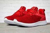Мужские кроссовки в стиле Pacer Navigator, текстиль, красные, 43(28 см), в наличии:43,44,46