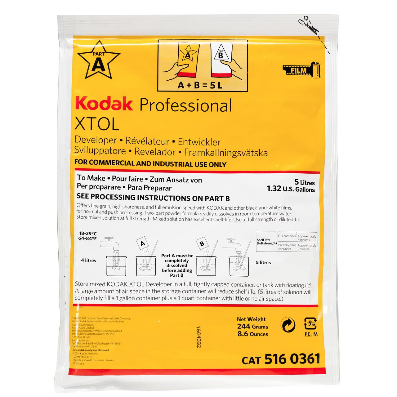 Проявитель для пленки KODAK XTOL 5 L.