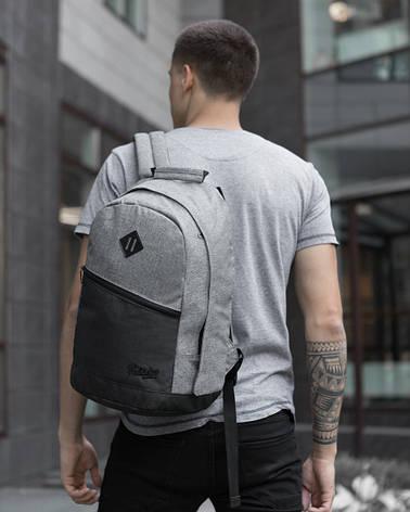 Рюкзак «Vsegda s soboy» (черно-серый), фото 2