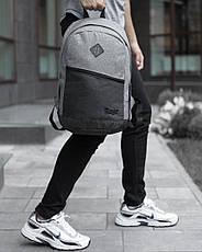 Рюкзак «Vsegda s soboy» (черно-серый), фото 3
