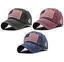 Кепка бейсболка флаг Америка (USA) Красная 2, Унисекс, фото 2