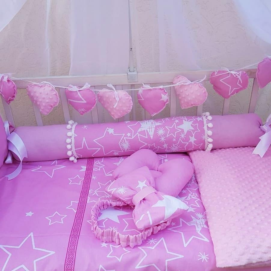 Постельный набор в кроватку Bonna Elite Бонна Элит 12в1
