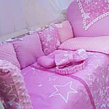 Постельный набор в кроватку Bonna Elite Бонна Элит 12в1, фото 2