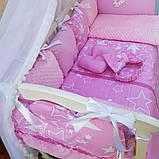 Постельный набор в кроватку Bonna Elite Бонна Элит 12в1, фото 4