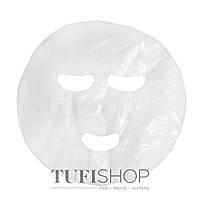 Маска-салфетка косметологическая Doily белая, гладкая, 50 шт