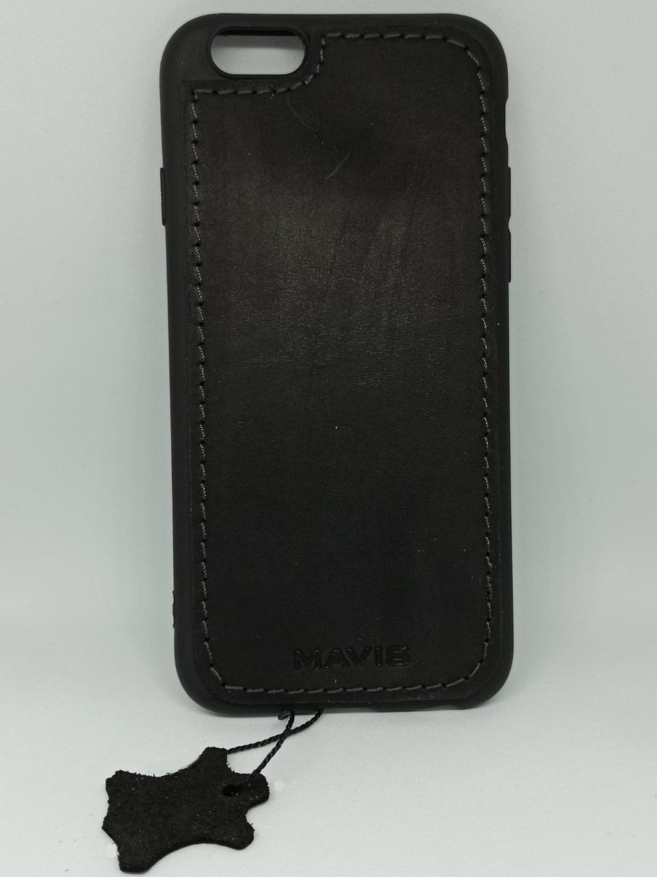 Чехол бампер Mavis для iphone 6 6S черный