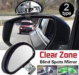 Зеркало заднего вида против мертвых зон E 020 Clear Zone Auxiliary Mirror, фото 2