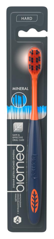 Зубная щетка Biomed Mineral Hard, жесткая (1шт.)