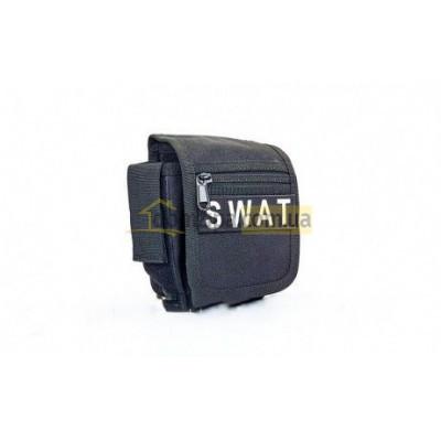 Сумка на пояс Черная RT-SWAT 1 л(р)