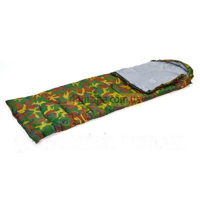 Спальный мешок одеяло Камуфляж