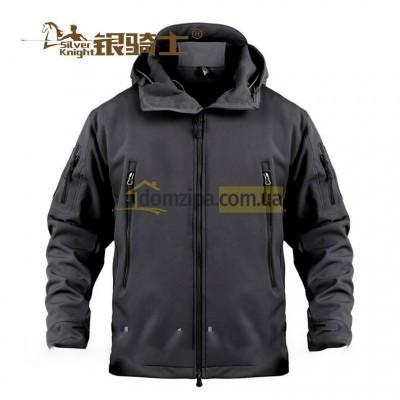 Куртка Silver Knight Soft Shell Черная 3XL(р)