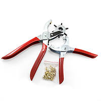 Набор Инструментов для Заклепок Monisto Сталь 335х110х25мм Цвет: Красный 8шт/набор