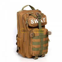 Рюкзак тактический Silver Knight койот SWAT-3P 35л(р)