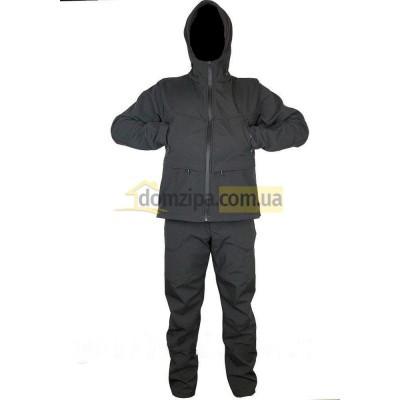 Костюм Scout Soft-shell черный 58(р)