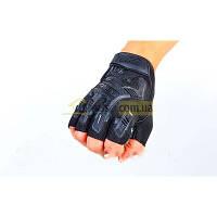 Перчатки Mechanix закрытые Черные L(р)