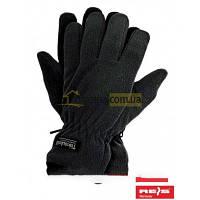Перчатки флис Thinsulate черные