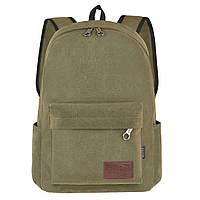 Рюкзак молодёжный BAIYUN 43х30x16 ткань брезент ксВУ738-6х