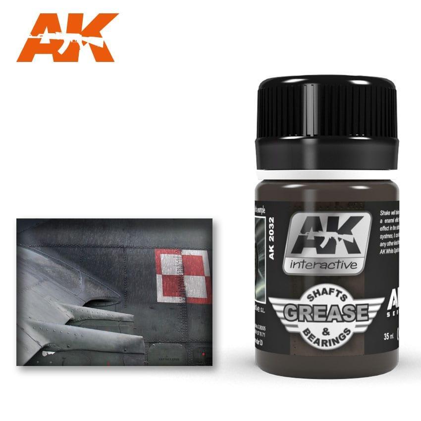 Жидкость для имитации Смазка валов и подшипников 35 мл. AK-INTERACTIVE AK-2032