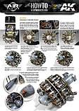 Смывка для двигателей сборных моделей самолетов 35 мл. AK-INTERACTIVE AK-2033, фото 2