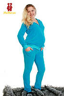 Спортивный костюм велюровый для беременных