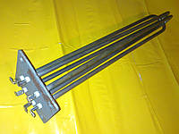 Блок Тэн на квадратном фланце 6.0 кВт. / 100х100 мм. в электрокотёл . Производство Украина