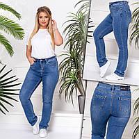 8232 Vanver джинсы женские батальные демисезонные стрейчевые (32-42, 6 ед.), фото 1