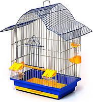 Клетка для птиц Лорі Мальва 45 х 33 х 23 см Синяя