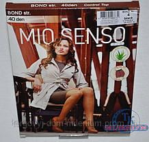 Mio Senso колготки женские 40 den цвет Black Bond str Размер:0,2