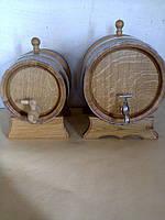 Дубовая  заливная бочка для вина  10л