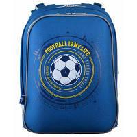 Рюкзак шкільний 1 Вересня каркасний H-12 Football (554593)