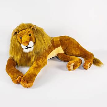 Игрушка мягкая Лев Царь зверей 90 см