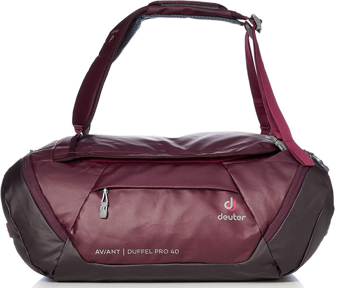 Сумка дорожная Deuter Aviant Duffel Pro 40 maron-aubergine (3521020 5543)