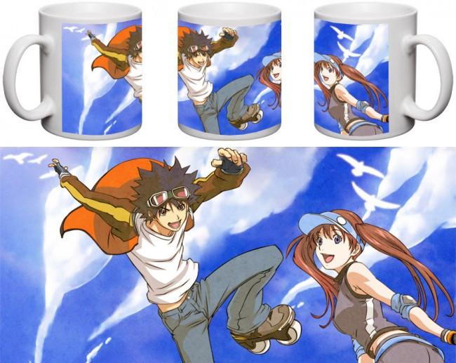 Кружка чашка Air Gear - Ицуки Минами