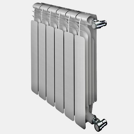 Биметаллический радиатор отопления (батарея) 500x96 Faral full bimetalico