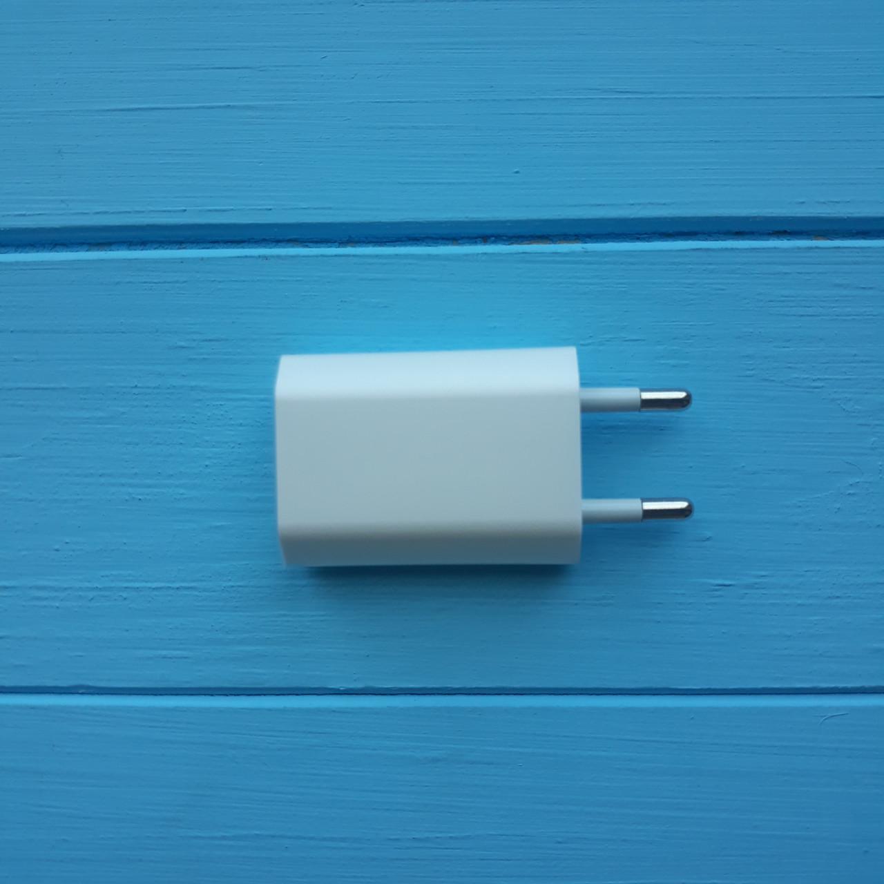 Сетевое зарядное устройство Apple iPhone (Европейская вилка) 1000mAh