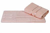 Полотенце махровое HOBBY 50х90 хлопок DOLCE персиковый 1шт