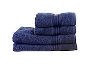 Полотенце махровое HOBBY 50х90 хлопок RAINBOW темно-синий 1шт, фото 1