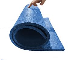 Мат коврик гумовий 10 мм 1 шт. синій (108х50 см)