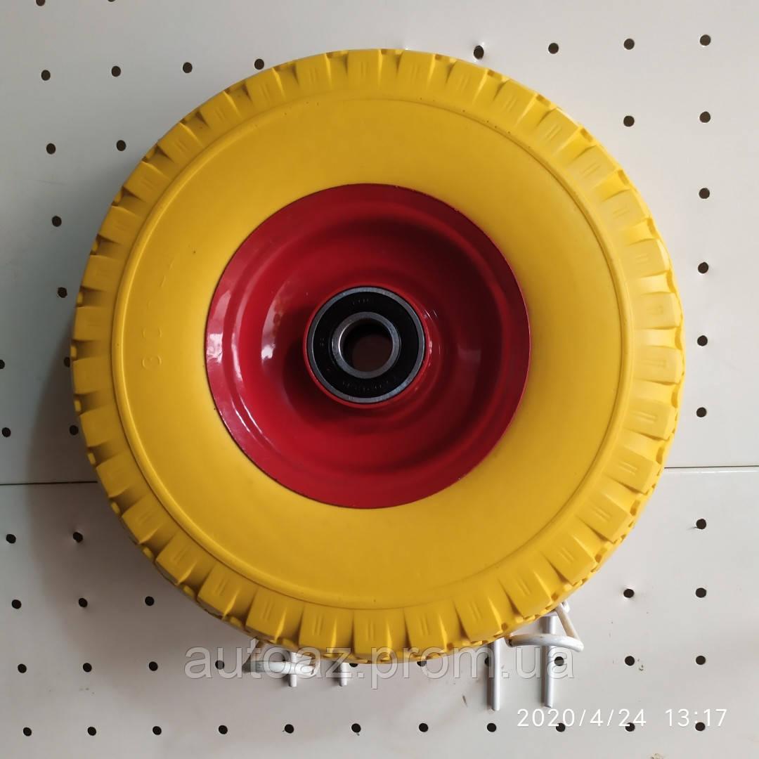 Колесо для тачки 3.00-4 пенополиуретановое