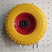 Колесо для тачки 3.00-4 пенополиуретановое, фото 1