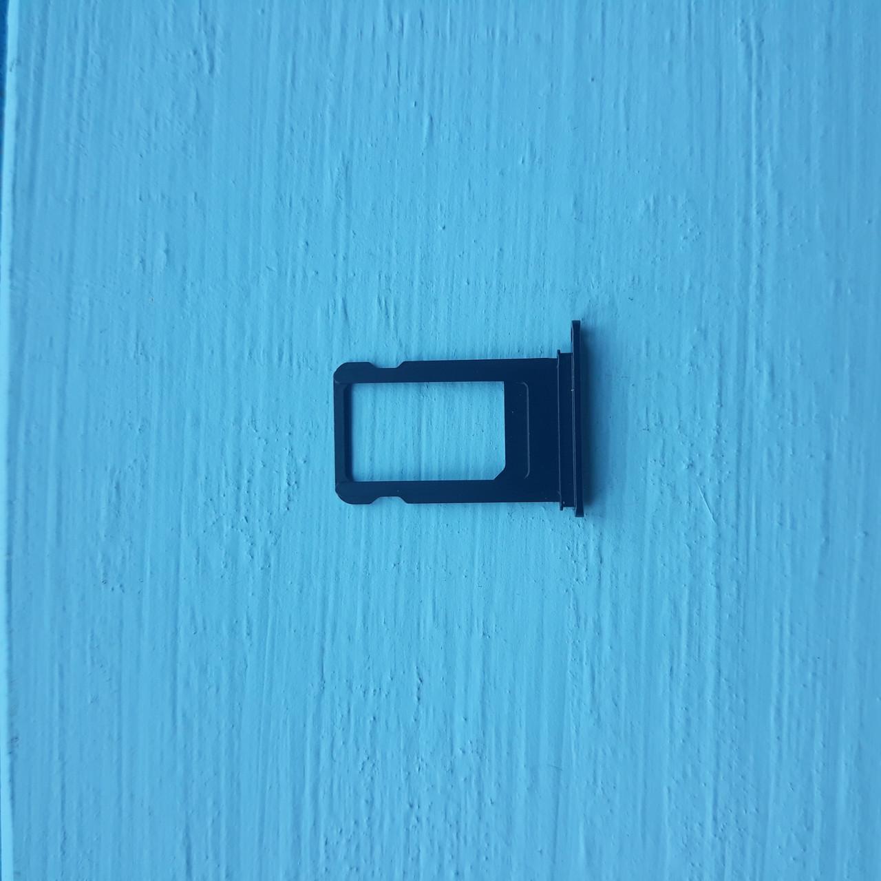 Держатель sim-карты для Apple iPhone 7 Plus Black