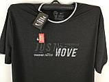 Чоловіча футболка великого розміру, фото 4