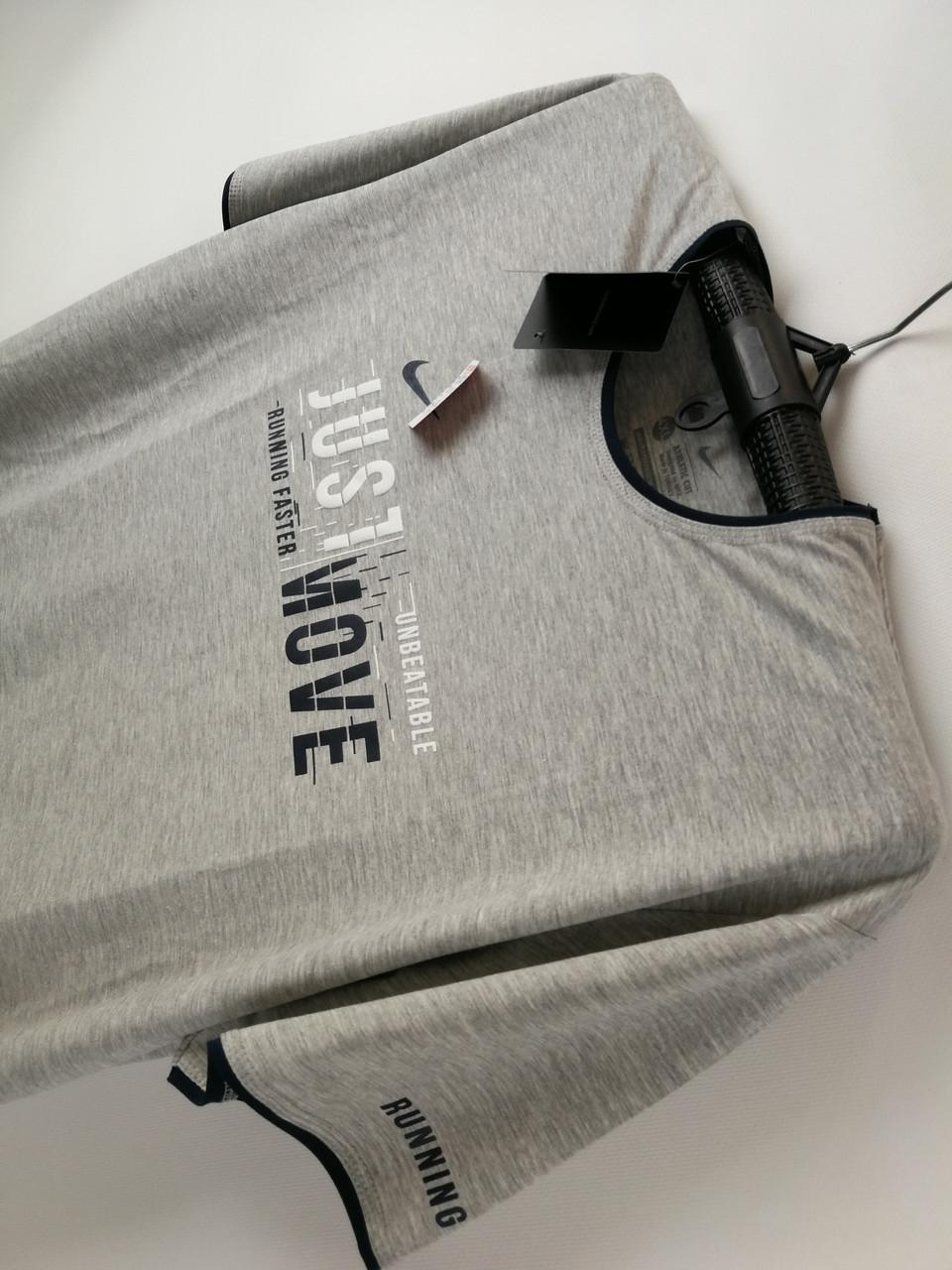 Чоловіча футболка Nike великого розміру