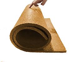 Мат коврик гумовий 10 мм 1 шт. помаранчевий (108х50 см)