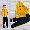 Модный спортивный костюм на мальчика BOSS (двухнитка) 98, 104, 110, 116, фото 2