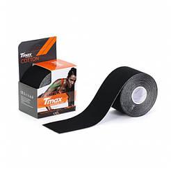 Кинезио тейп Tmax Cotton Tape 5смx5м черный TCBk (060104)
