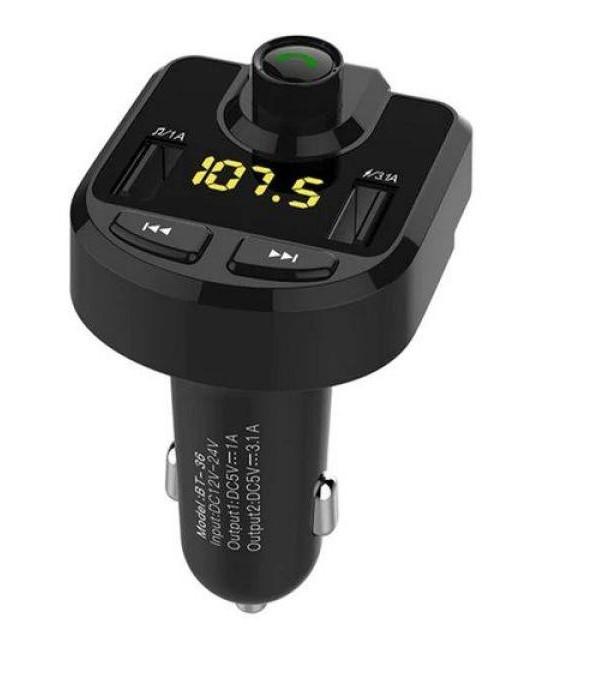 Bluetooth FM-модулятор bt hands-free car kit (008015)